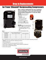 Compressors: Trane Exact Fit Replacement