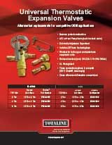 System Components: Universal Thermostatic Expansion Valves