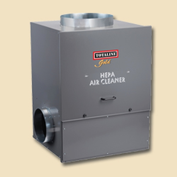 totaline whole house duct mount hepa air cleaner